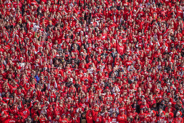 Photograph - Student Section by Todd Klassy