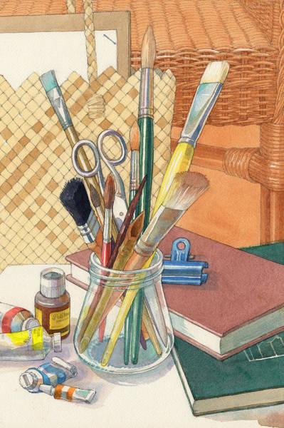Painting - Studio by Judith Kunzle