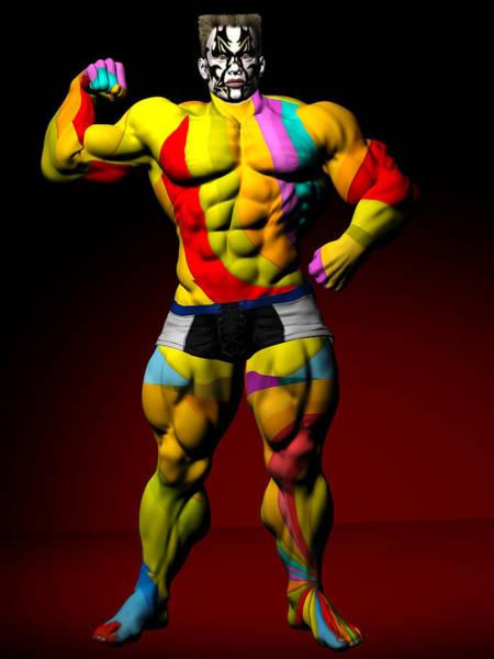Digital Art - Studio Man Render 17 by Carlos Diaz