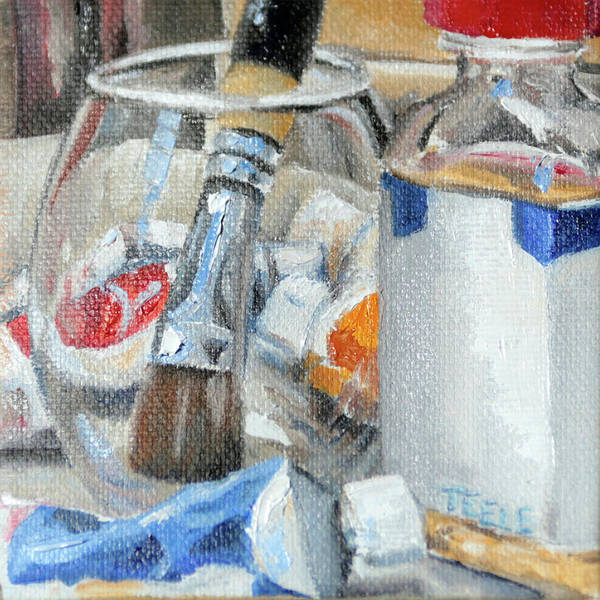 Painting - Studio Treats by Trina Teele