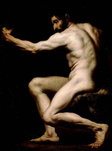 Painting - Study For Hercules by Italian Anonymous