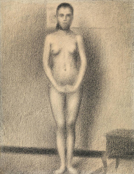 Drawing - Study For Poseuses by Georges-Pierre Seurat