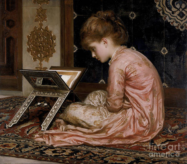 Wall Art - Painting - Study by Frederic Leighton