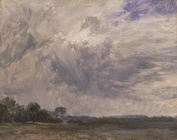 Painting - Study Of A Cloudy Sky by John Constable