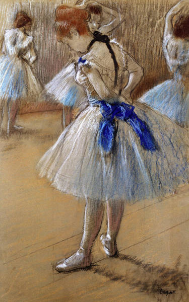 Painting - Study Of A Dancer By Edgar Degas by Movie Poster Prints
