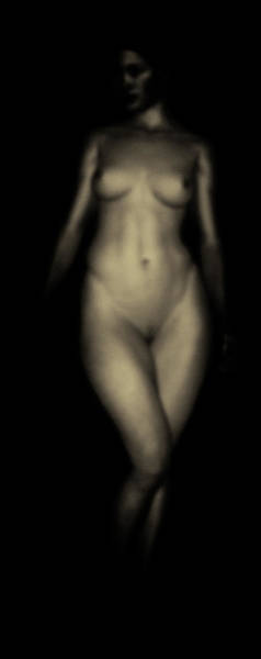 Photograph - Study Of Eve Frontside by Jan Keteleer