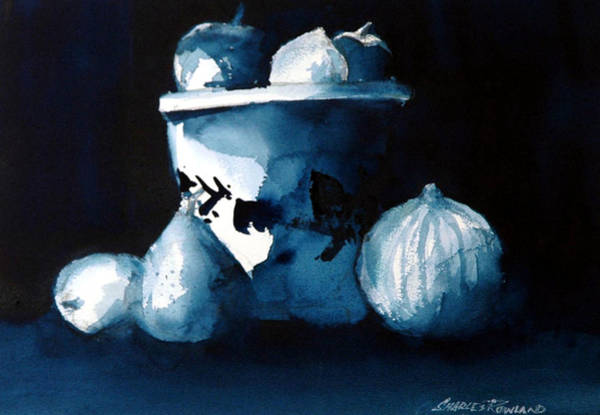 Painting - Study Un Prussian Blue by Charles Rowland
