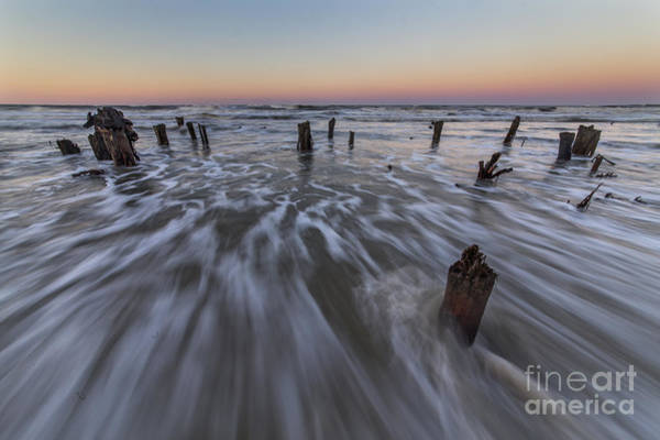 Port St. Joe Photograph - Stumps In The Gulf by Twenty Two North Photography