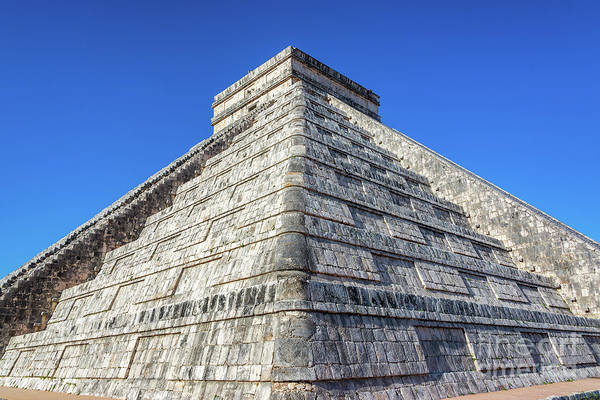 Kukulcan Photograph - Stunning Pyramid Of Chichen Itza by Jess Kraft