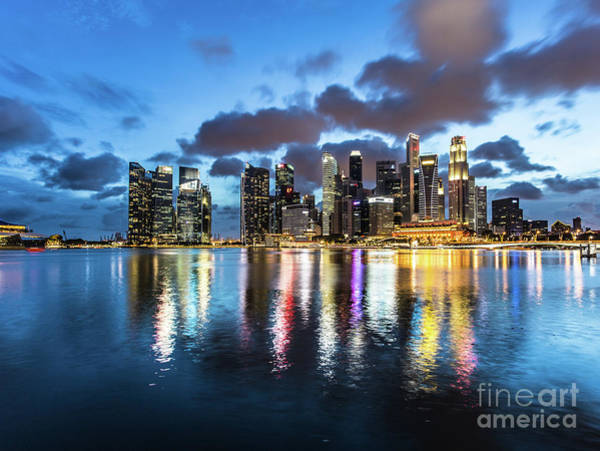 Photograph - Stunning Singapore by Didier Marti
