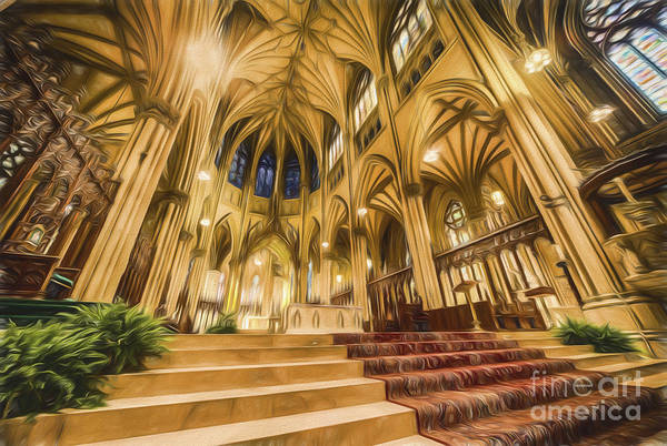 Photograph - Stunning St Patricks II  Go by Ray Warren