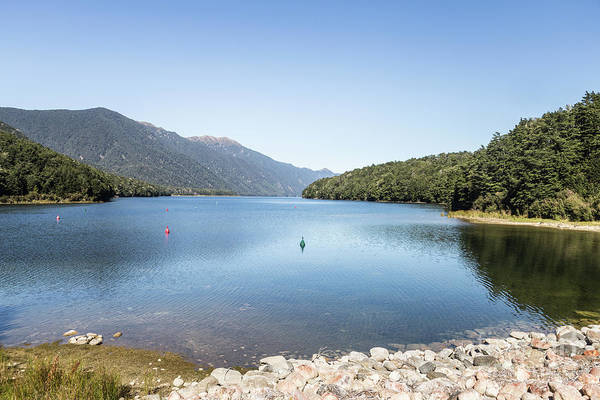 Photograph - Stunning View Of Lake Monowai In New Zealand South Island by Didier Marti