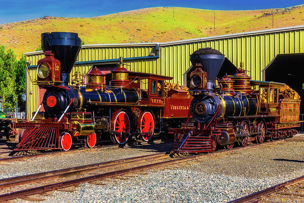 Wall Art - Photograph - Stunningly Beautiful Trains by Garry Gay