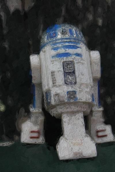 Galactic Empire Photograph - Stupid Little Short Circuit by Modern Art