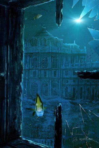 Ocean Scape Digital Art - Stupinigi by Andrea Gatti