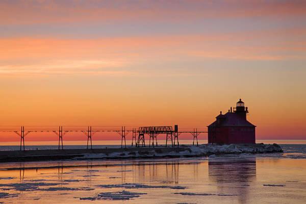 Photograph - Sturgeon Bay 1 by CA  Johnson