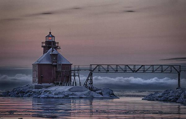 Photograph - Sturgeon Bay 3 by CA  Johnson