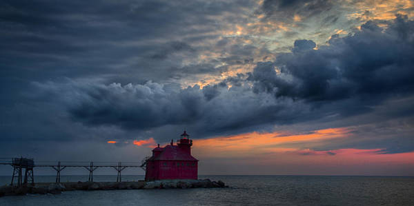 Photograph - Sturgeon Bay 4 by CA  Johnson
