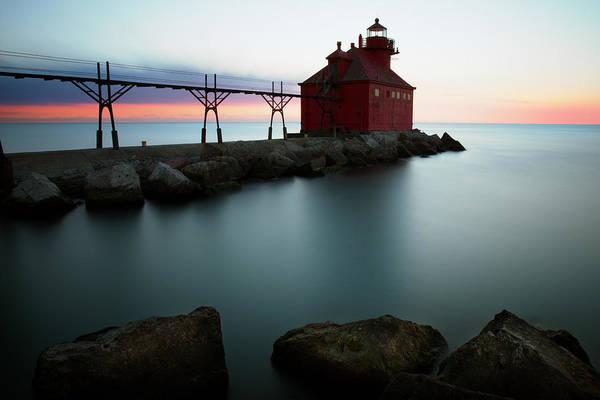 Photograph - Sturgeon Bay 7 by CA  Johnson