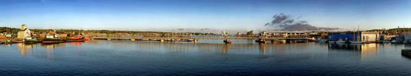 Photograph - Sturgeon Bay Bridge by CA Johnson