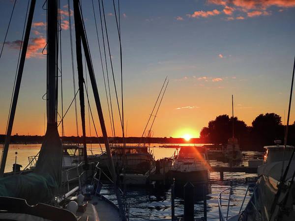 Photograph - Sturgeon Bay Sunset by Rod Seel