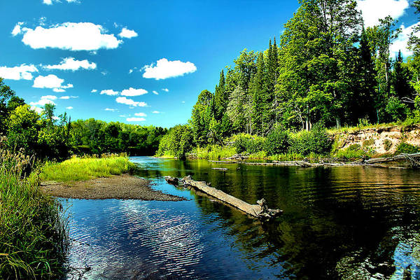 Wall Art - Photograph - Sturgeon River In Summer by Matthew Winn