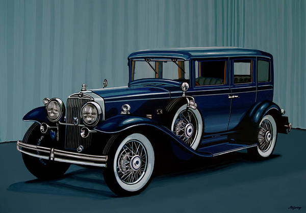 Wall Art - Painting - Stutz Dv32 1933 Painting by Paul Meijering