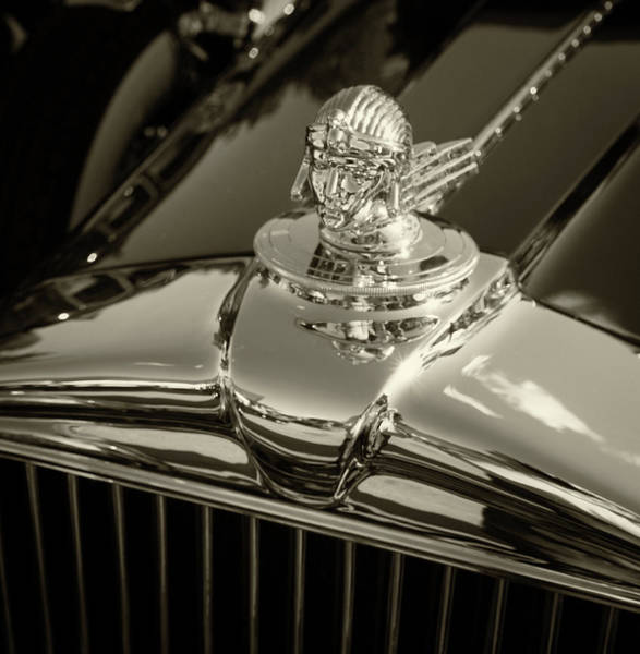 Photograph - Stutz Hood Ornament by Samuel M Purvis III