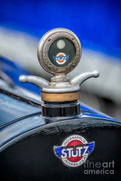 Mascot Photograph - Stutz Motor Company by Adrian Evans