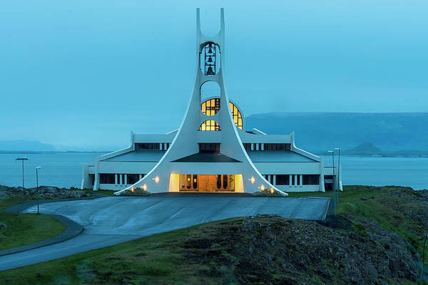 Photograph - Stykkisholmur Church by Tom Singleton