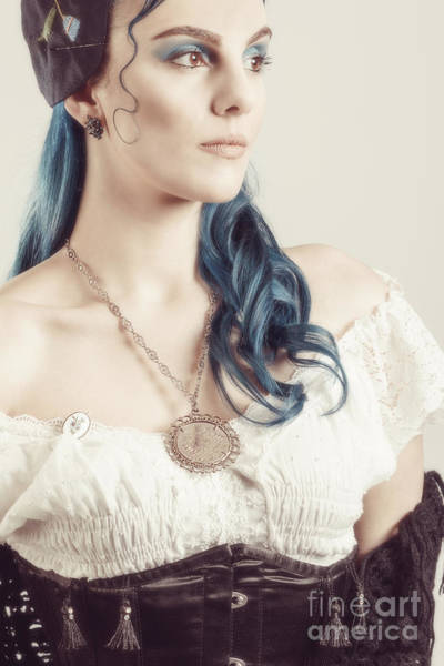 Wall Art - Photograph - Styled Gypsy With Costume by Amanda Elwell