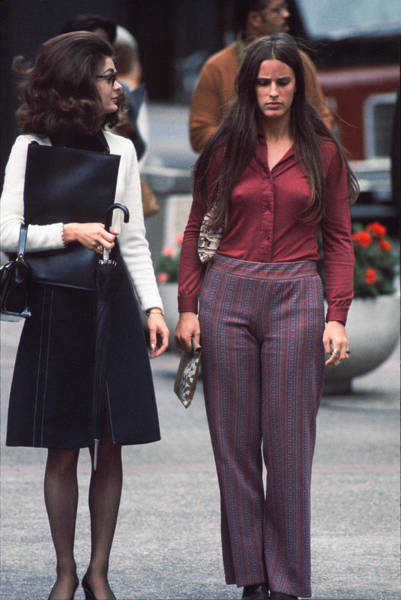 Photograph - Stylish Dayton's Shoppers by Mike Evangelist
