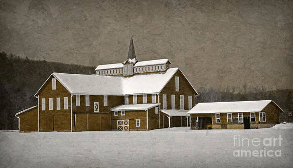 Wall Art - Photograph - Stylistic Country Barn by John Stephens