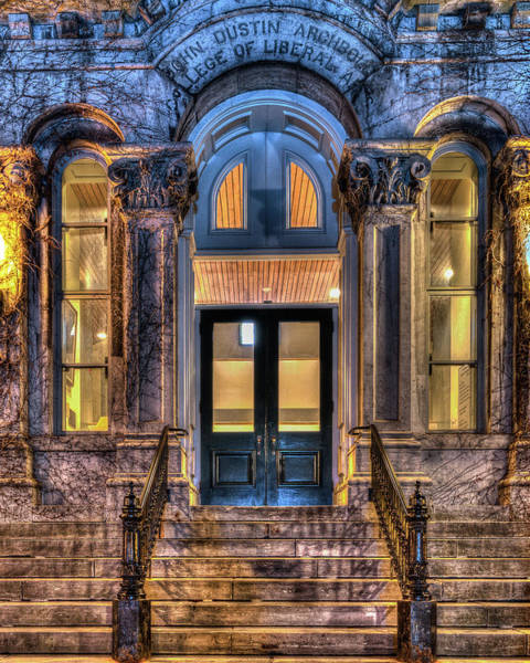 Photograph - Su Hall Of Languages Doors by Rod Best