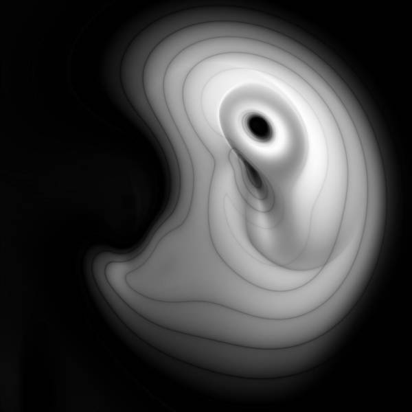 Subjective Digital Art - Subconscious 9 by Vic Eberly