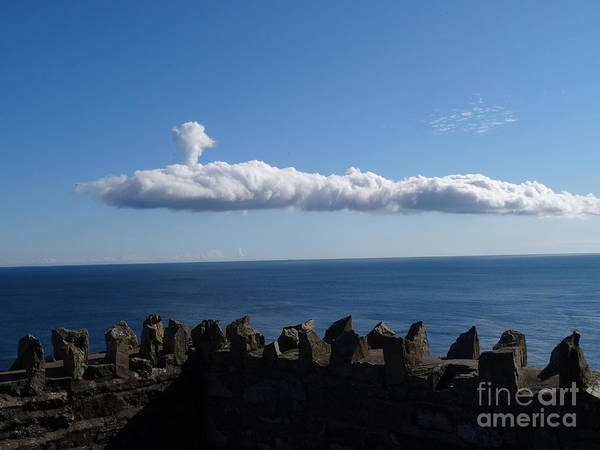 Photograph - Submarine Cloud by Karen Jane Jones