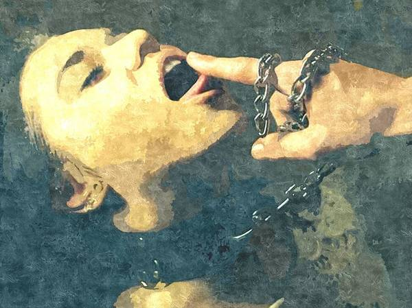 Xxx Painting - Submission In Colour - Taste It by BDSM love
