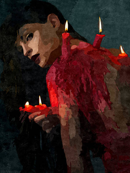 Xxx Painting - Submission In Red - Succubus by BDSM love
