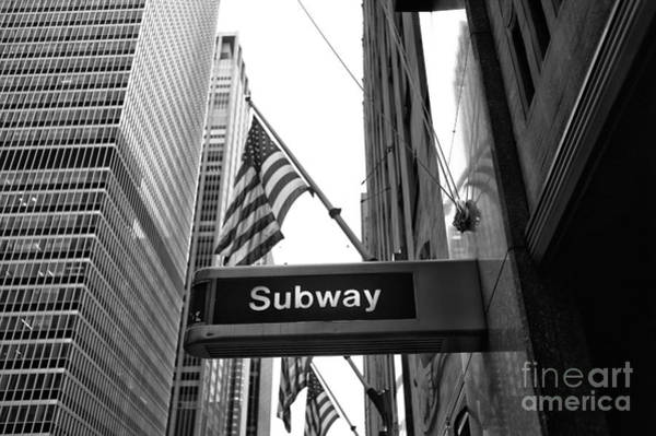 Wall Art - Photograph - Subway At Radio City Music Hall by John Rizzuto