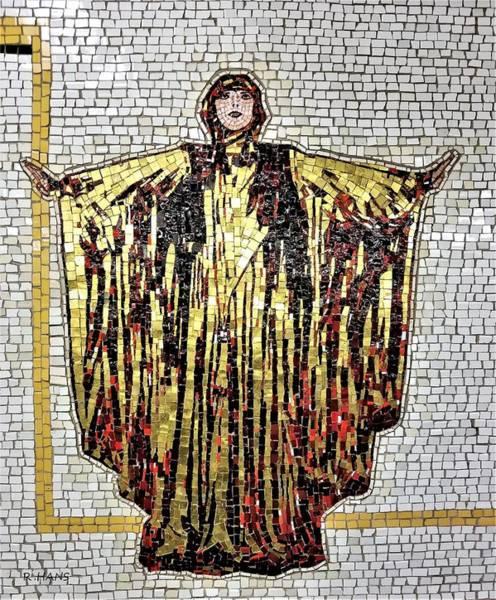 Photograph - Subway Mosaic Women by Rob Hans
