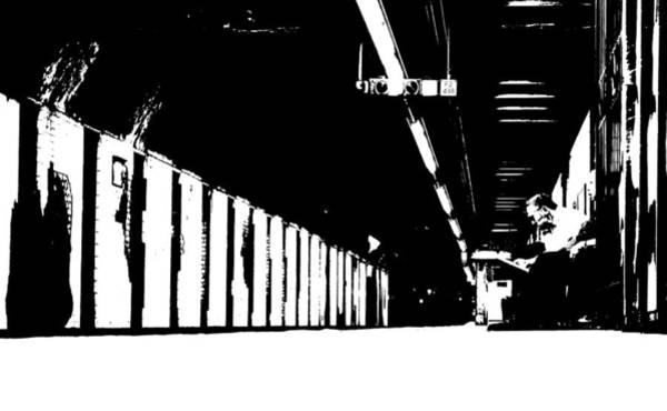 Wall Art - Photograph - Subway Noir by Valentino Visentini