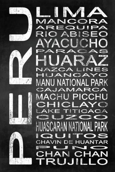 South Lake Digital Art - Subway Peru 1 by Melissa Smith