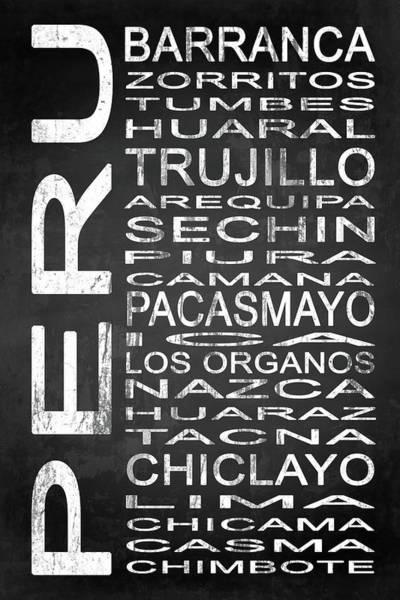 Wall Art - Digital Art - Subway Peru 2 by Melissa Smith