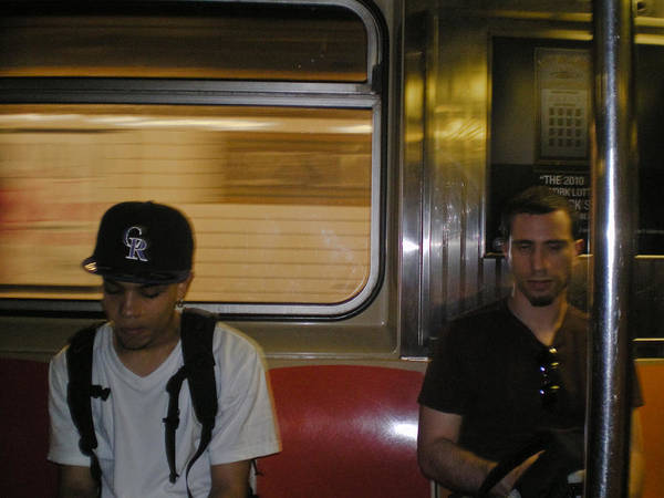 Photograph - Subway Ride Nyc by David Coblitz