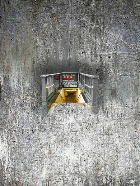 Mixed Media - Subway by Tony Rubino