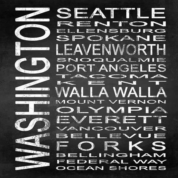 Vancouver Digital Art - Subway Washington State Square by Melissa Smith