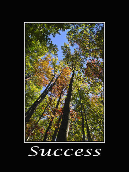 Mixed Media - Success Inspirational Poster by Christina Rollo