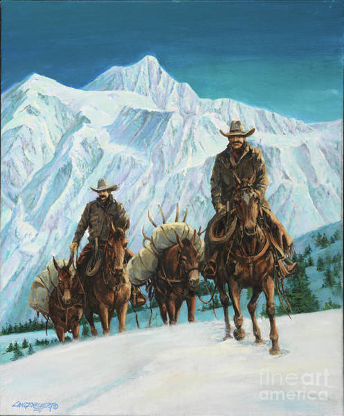 Wall Art - Painting - Successful Hunt by Don Langeneckert