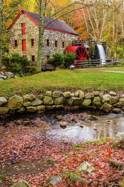 Photograph - Sudbury Grist Mill #2 by Jack Peterson