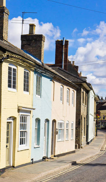 Yellow Brick Road Wall Art - Photograph - Sudbury Houses by Tom Gowanlock